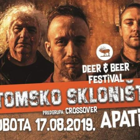 "SUTRA, ATOMSKO SKLONIŠTE NA TREĆEM ""DEER & BEER"" FESTIVALU"