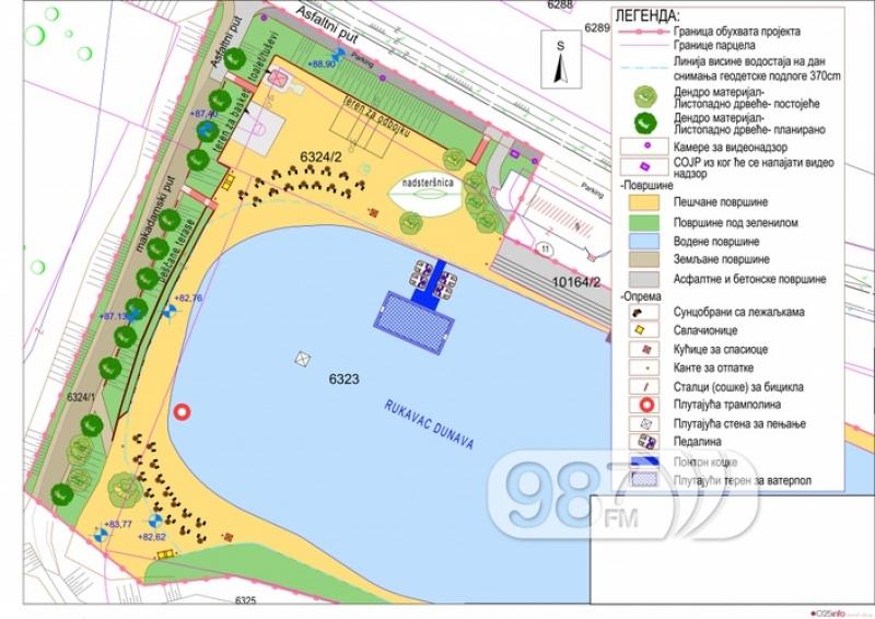 Овог лета потпуно нови изглед градског купалишта на Дунаву