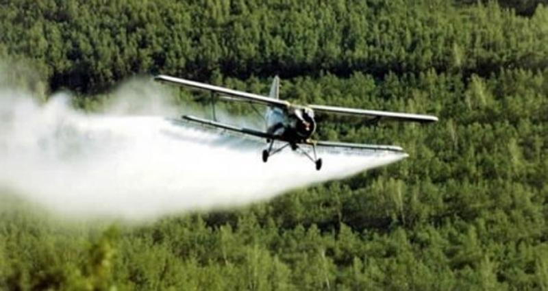 У среду авио третман против комараца