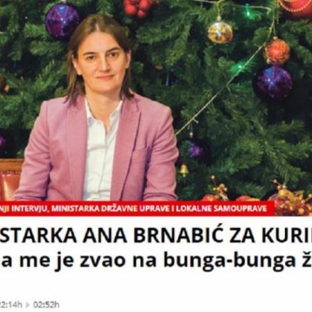 PALMA ZVAO I PREMIJERKU ANU BRNABIĆ NA BUNGA-BUNGA ŽURKE
